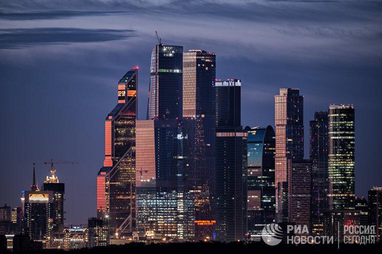 """Международный деловой центр """"Москва-Сити"""""""