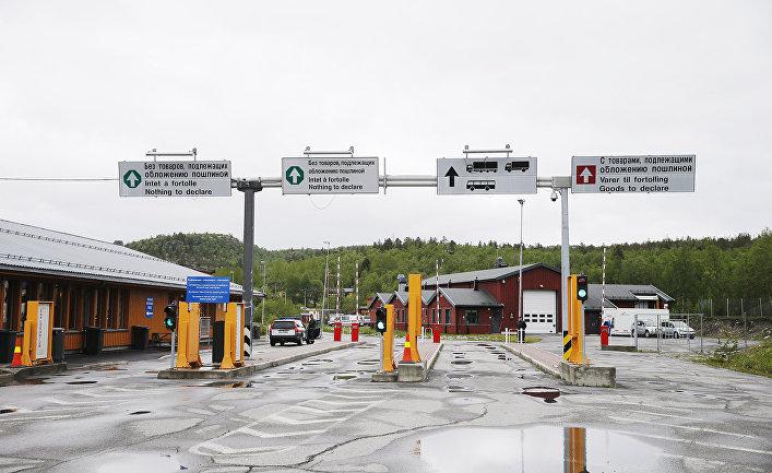 КПП на российско-норвежской границе