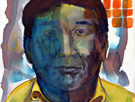 Портрет Харуки Мураками