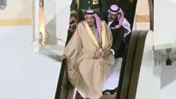 Король СА и эскалатор