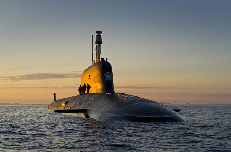 """Подводная лодка проекта """"Ясень-М"""""""