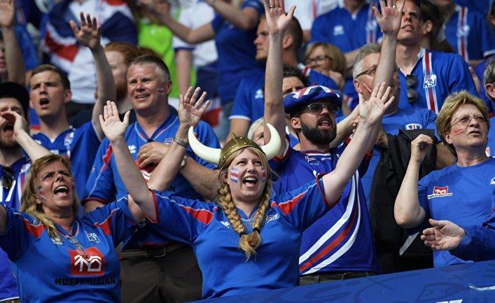Футбол. Чемпионат Европы - 2016. Матч Исландия - Австрия