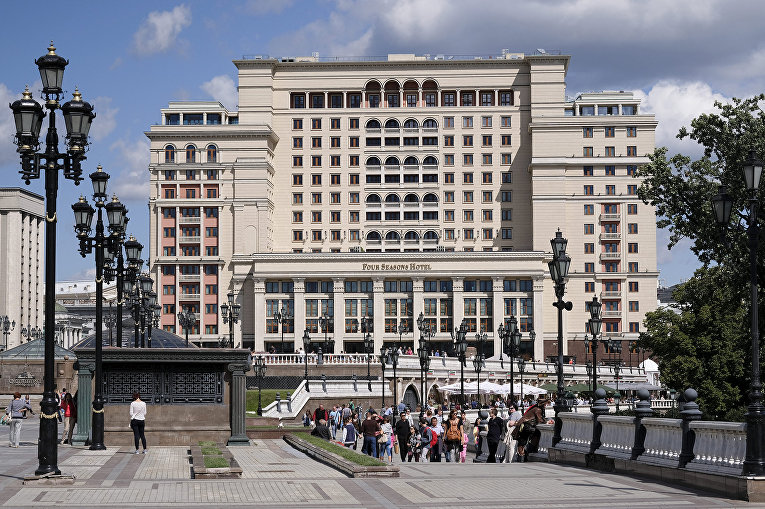 Гостиница Four Seasons Hotel в Москве