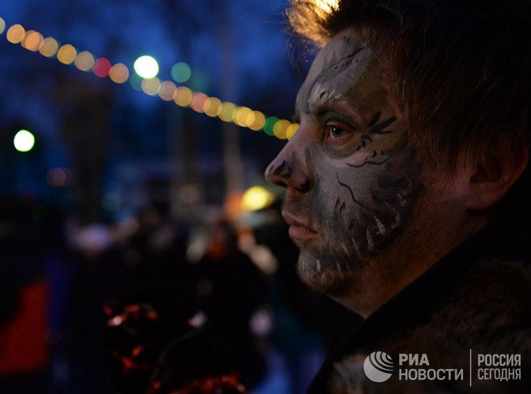 Празднование пятницы 13-го в Екатеринбурге
