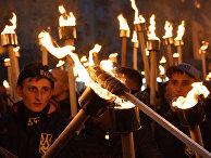 Акции националистов на Украине