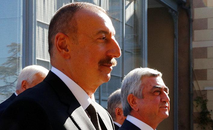 Было такое впечатление, что Алиева привели на эшафот