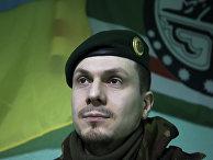 Командир чеченского батальона Адам Осмаев