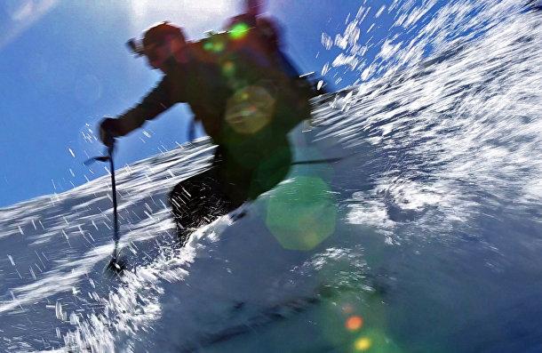 Экстремальный горнолыжный спуск