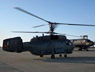 """Передача нового вертолета """"КА-27М"""" и самолета """"ИЛ-38Н"""" Ейскому учебному центру"""