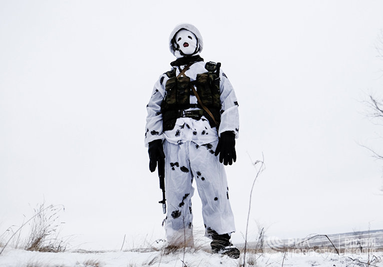 Тактическое занятие миротворческого соединения ЦВО в Самарской области