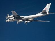 Стратегический бомбардировщик-ракетоносец Ту-95 ВКС России
