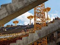 """Строительство стадиона """"Волгоград Арена"""" к чемпионату мира по футболу 2018 года в Волгограде"""