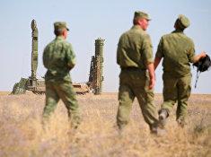 Учения войск ПВО Западного военного округа на полигоне Капустин Яр в Астраханской области