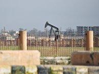 Нефтяная скважина на окраине Дейр-эз-Зора, Сирия