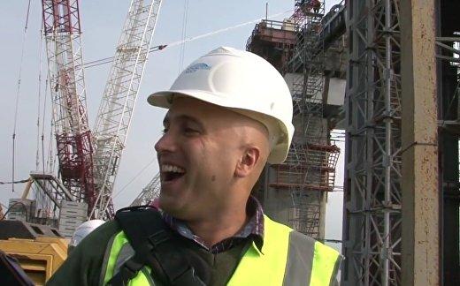 Британский журналист посетил Керченский мост