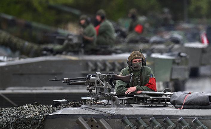 Военные учения Strong Europe Tank Challenge 2017 в Графенвуре, Германия