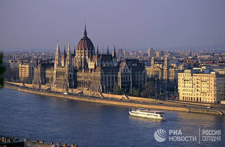 Река Дунай, Будапешт