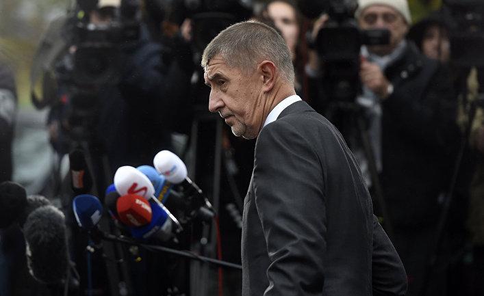 Экс-министр экономики Чехии и лидер партии ANO Андрей Бабиш