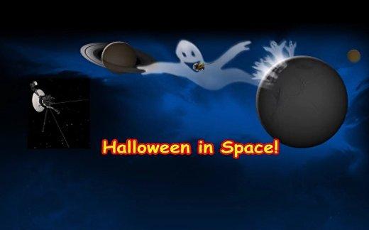 Хэллоуин в космосе