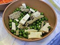 Блюдо сыроедческой кухни