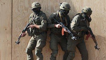Военные учения Rapid Trident-2017 в Львовской области