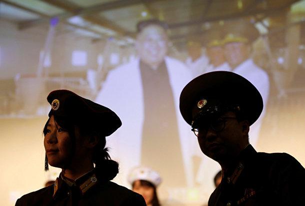 Фанаты Северной Кореи