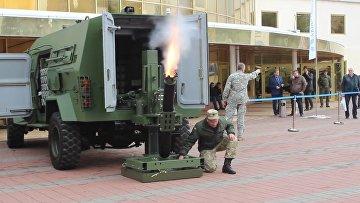 Украинский миномет — полная автоматика