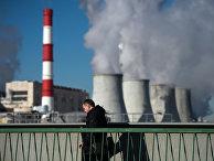 Вид на ТЭЦ №20 в Москве
