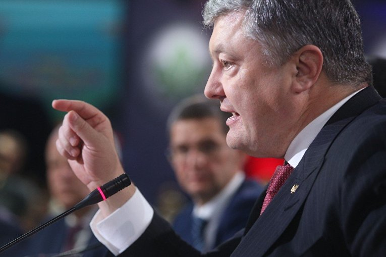 Президент Украины Петр Порошенко принимает участие в заседании Рады регионального развития