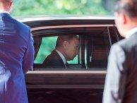 Президент РФ Владимир Путин перед встречей лидеров экономик форума АТЭС во Вьетнаме. 10 ноября 2017