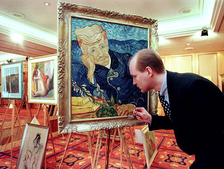 Картина Винсента ван Гога «Портрет доктора Гаше»