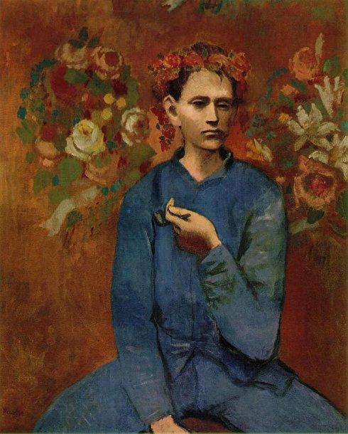 «Мальчик с трубкой» Пабло Пикассо