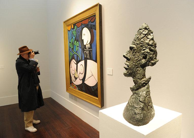 «Обнаженная, зеленые листья и бюст» Пабло Пикассо