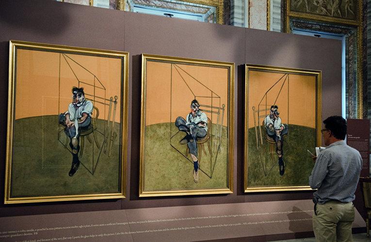 «Три наброска к портрету Люсьена Фрейда» Френсиса Бэкона
