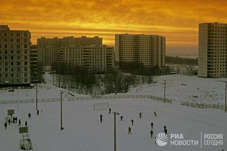 Жилые дома в районе Ясенево