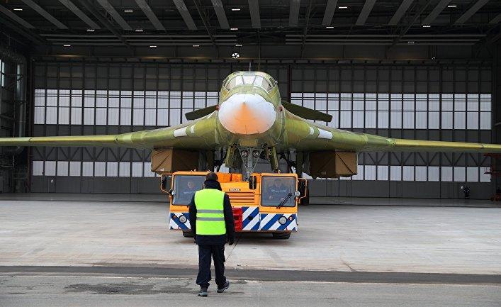 """Опытный образец самолета """"Ту-160М2"""""""