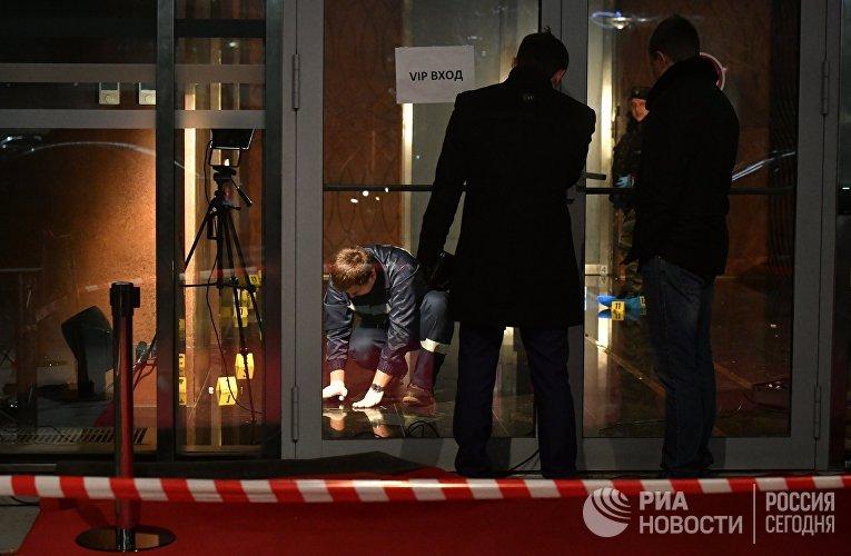 """Шесть человек пострадали в результате драки со стрельбой возле комплекса """"Москва-сити"""""""