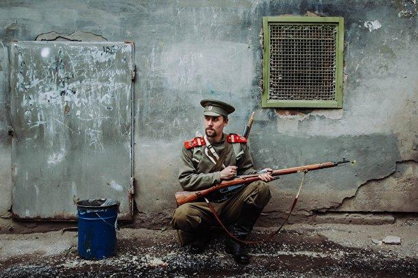 Иван, 27 лет: русский солдат, начало XX века