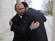 Президент РФ Владимир Путин и президент Сирии Башар Асад