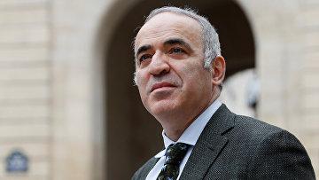Лидер Объединенного гражданского фронта Гарри Каспаров