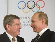 Прием президента МОК Томаса Баха для первых лиц стран-участниц Олимпиады 2014