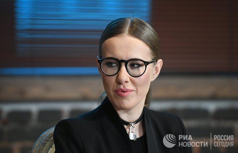 Экспертная дискуссия с Ксенией Собчак