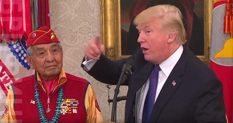 Трамп, «говорящие с ветром» и Покахонтас