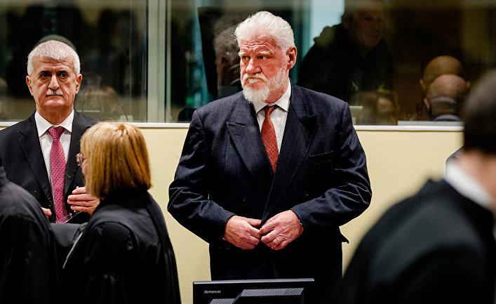 Военный уголовник принял ядвовремя совещания Гаагского суда