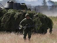 Учения Saber Strike-2014 неподалеку от Вильнюса