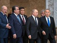 Встреча глав делегаций государств - членов ОДКБ в Минске. 30 ноября 2017