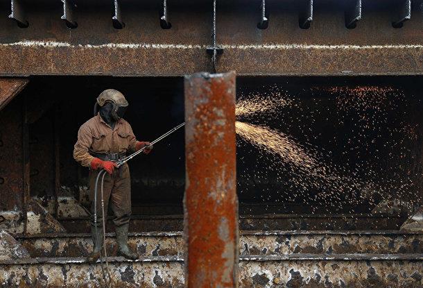 Судоразделочный завод в Генте