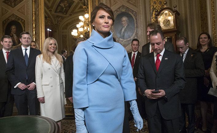 Жена президента США Меланья Трамп.