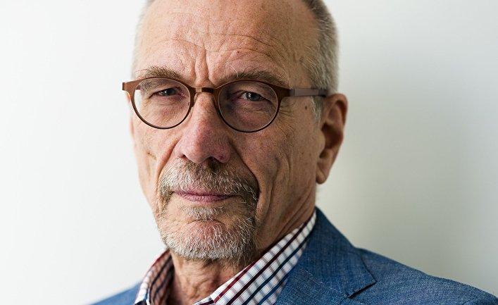 Кандидат на пост президента Финляндии от Шведской народной партии Нильс Турвальдс