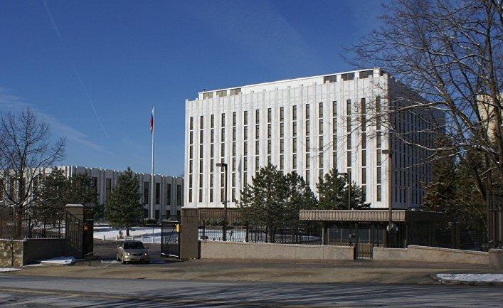 Здание посольства России в США